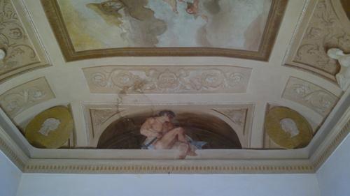 Soffitto dipinto  Ferretti Restauro